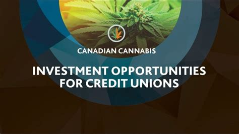 Opportunities for Credit Unions in the Cannabis Industry