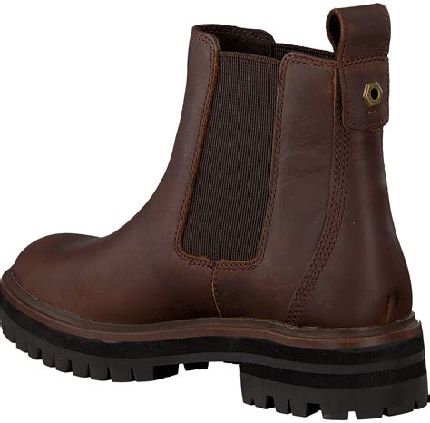 Cognacfarbene TIMBERLAND Chelsea Boots LONDON SQUARE