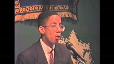 Ryan Leslie gives a speech at age 15 - YouTube