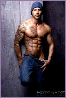 7 Male Fitness Models with Tattoos - Work Out Picture