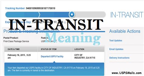 IN-TRANSIT Meaning - What Does In-Transit to Destination Mean?