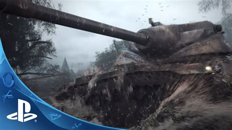 World of Tanks - Announcement Trailer   PS4 - YouTube