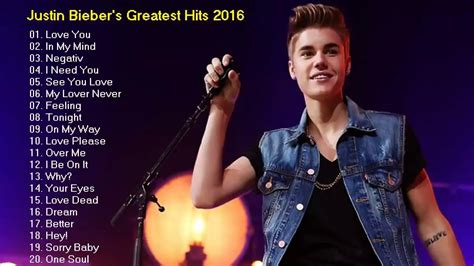 All New Songs By Justin Bieber - Justin Bieber Songs List