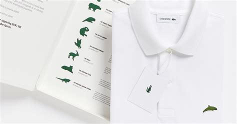 Lacoste x Save Our Species Replaces The Croc With 10 Species