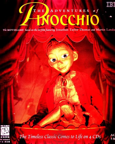 The Adventures of Pinocchio for Windows (1996) - MobyGames