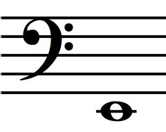 Music Notes - Bass Clef Flashcards | Quizlet