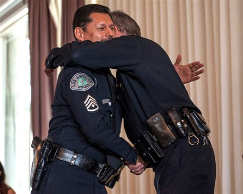 The LAPD is losing a familiar face, and it's going to be a
