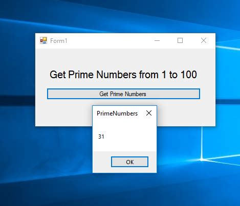 How to Get Prime Numbers in VB