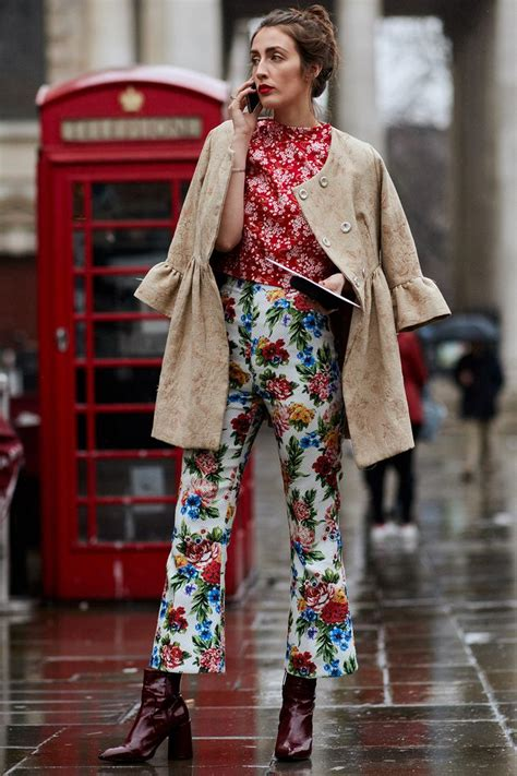 The Latest Street Style From London Fashion Week | Who