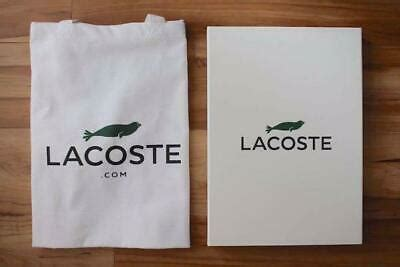 Lacoste Save Our Species Polo Shirt Size L Hawaiian Monk w