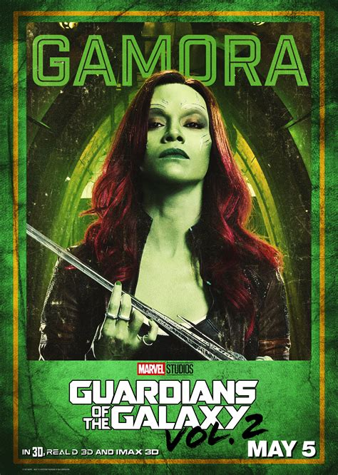Guardians of the Galaxy 2 Character Posters Released