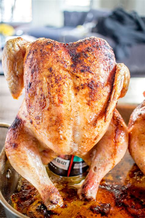 How to Make Beer Can Chicken - The Easiest Beer Can