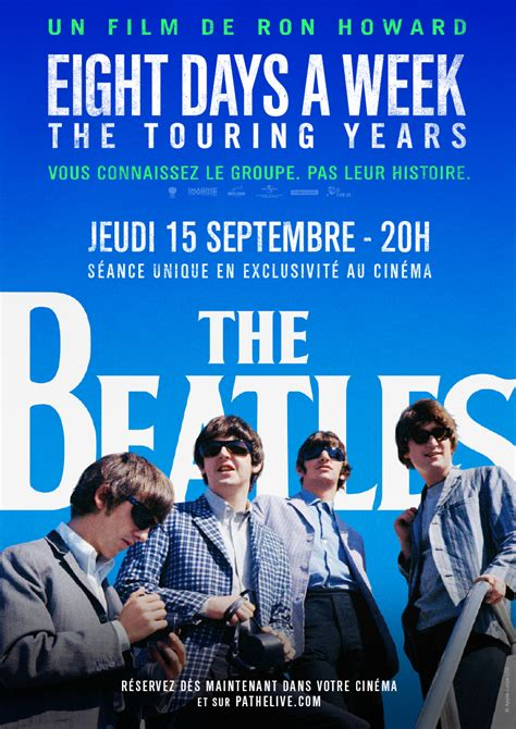 Poster zum The Beatles: Eight Days A Week - The Touring