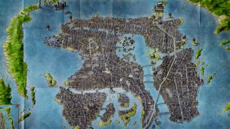 Game of Thrones - Map of Braavos | Game of Thrones