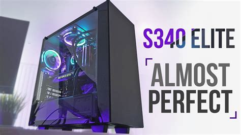 NZXT S340 Elite - The Almost Perfect Mid-Tower! - YouTube