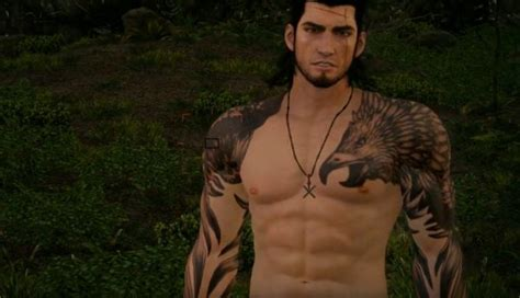 Final Fantasy XV Files Contain Nude Character Models [NSFW]