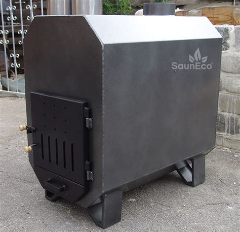 Powerful Woodburning Swimming Pool Heater (75kW) - Made of