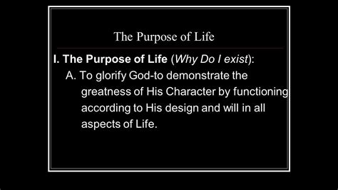 What is the meaning of Life? - YouTube